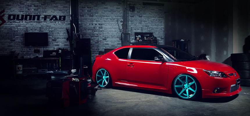 2013 scion tc rs8 0 customized by dunn fab